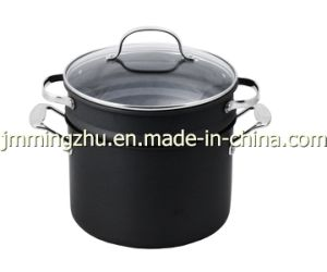 Cookware-Aluminum Pasta Pot With Insert (66-3) pictures & photos