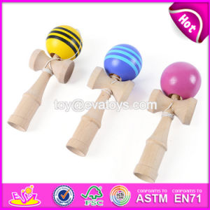 New Design Funny Children Wooden Toy Kendamas for Sale W01A192 pictures & photos