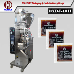 Automatic Tomato Ketchup Tomato Sauce Paste Packing Machine (Model DXDJ-300) pictures & photos