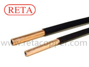 Fire Rated Black Coated Insulated Copper Tube pictures & photos