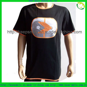 Cotton T Shirts with Custom Logo on Front pictures & photos