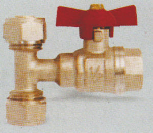 Brass Ball Valve with Tee pictures & photos