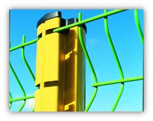 PVC Coated Wire Mesh Fence (DJ-231)