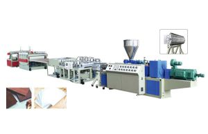 PVC Foam Sheet Extrusion Line pictures & photos