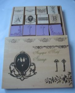 Wooden Stamp Set (SD-YZ0023)