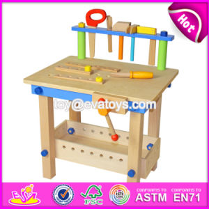 Best Educational Assemble Tools Wooden Toy Tool Bench for Children W03D043 pictures & photos