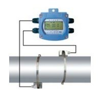 Battery Powered Ultrasonic Flowmeter pictures & photos