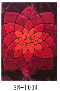 Hand-Made Polyester Beautiful Carpet&Rug--Sina