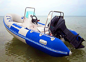 5.2m Inflatable Fiberglass Boat with High Quality PVC pictures & photos