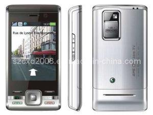 GPS WiFi JAVA Quad Band Dual SIM TV Mobile Phone (CXD-F029)