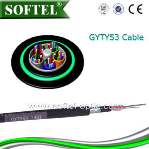 Direct Burial G652D Fiber Cable (GYTY53 Price) pictures & photos