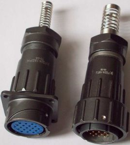 Fq24-19 Pins Multipol Cable Connector pictures & photos