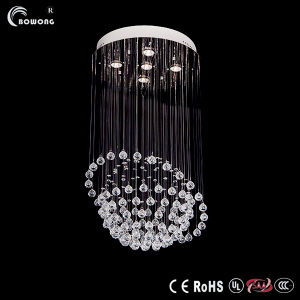 Single Head Ball K9 Crystal Chandelier, Stylish Restaurants Lamp (BH-ML015)