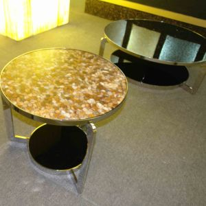 Pebble Stone Decoration Table Top pictures & photos