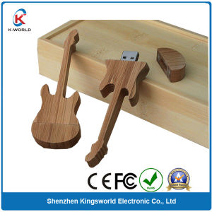 8GB Wood Guitar USB Flash Memory