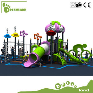 Hot Sale Kids Outdoor Playground with Plastic Slide Children Playgrounds with Kids pictures & photos