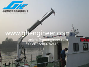Mini Telescopic Crane Small Crane pictures & photos