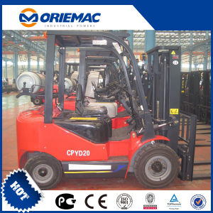 Yto 2 Ton LPG Forklift with Sideshifter Cpyd20 pictures & photos