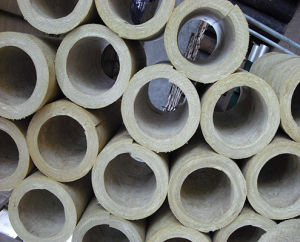 Fiberglass Mineral Wool Pipe, Rock Wool Pipe Insulation pictures & photos