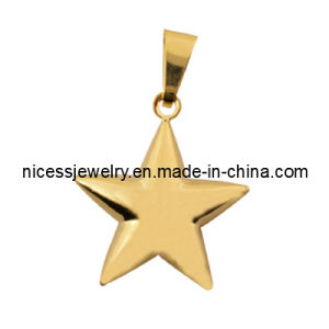 Fashion Stainless Steel Jewelry Charm Pendant (AR19)