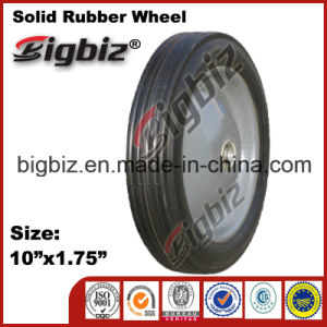 Jiaonan 10 Inch 10X1.75 for Sale Solid Rubber Wheel pictures & photos