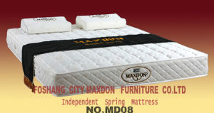 Spring & Memory Foam Mattress (MD08) pictures & photos