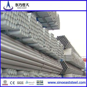 BS1387 Pre-Galvanized Steel Pipe pictures & photos