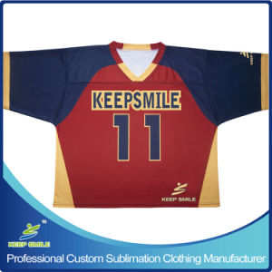 Custom Sublimation Lacrosse Game Team Jersey pictures & photos