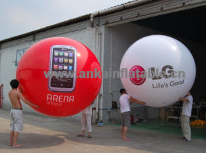 Giant Inflatable Helium Round Balloon with Customized Logo for Advertising pictures & photos