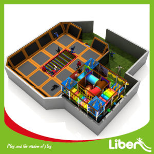 Commercial Trampoline Park for Sale, Olympic Jumping, Foam Pit, Basketball Court, Dodge Ball Le. X3.404.330 pictures & photos