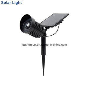Color Changing Low Voltage Solar Light Spotlight Security Light