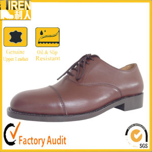 Comfortable Fashion Men Low Price Office Shoes pictures & photos