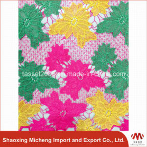 Hot Selling Multi Color Guipure Lace3014 pictures & photos