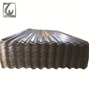 0.14 0.8mm Thickness Galvanized Corrugated Steel Roofing Sheet