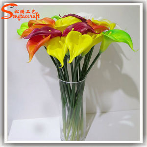 Wholesale Indoor Decorative PU Artificial Calla Flower pictures & photos