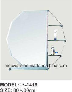 Bathroom Smart Vanity Mirror with Glass Shelf Bathroom Mirror pictures & photos