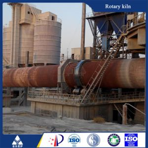Limestone Calcination Processing Rotary Lime Kiln for India Export Supplier pictures & photos