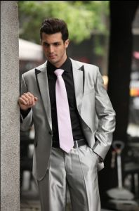 Wholesale Custom Suits Manufacturers / Tailored Business Mens Suit / Bespoke pictures & photos