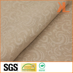 Polyester Brown Print Wide Width Inherently Fire Retardant Fireproof Curtain pictures & photos