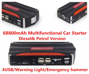 Portable Emergency Big Capacity Battery Charger Car Jump Starter pictures & photos