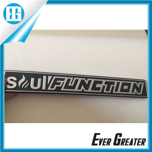 Embossed Waterproof UV Resistant Aluminum Stickers with Your Logo pictures & photos