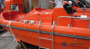 Marine Fast Rescue Inflatable Boat / Lifesaving Lifeboat with Davit System pictures & photos