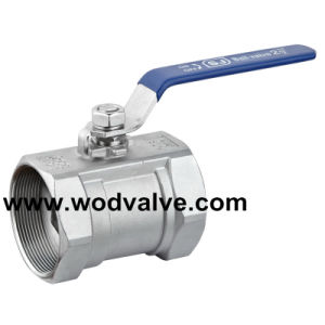 1000wog One Piece Ss Ball Valve with Ce Certificate pictures & photos