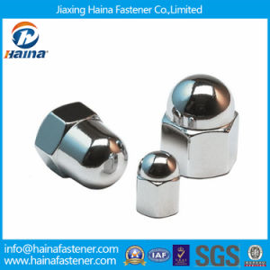 Round Head Cap Nut Stainless Steel DIN1587 Hex Cap Nuts pictures & photos