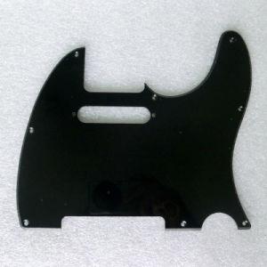 Standard 8 Holes 1ply Black Color Tele Guitar Pickguard pictures & photos