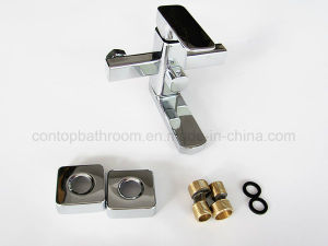 Bathroom Brass Wall-Mounted Shower Faucet pictures & photos