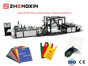 Full Automatic Eco Bag D-Cut Bag Making Machine Zxl-B700 pictures & photos
