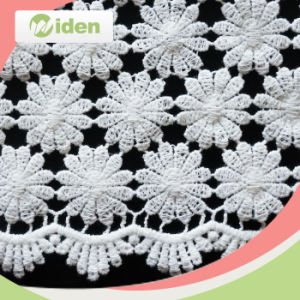 Delicate Pattern Cotton Chemical Lace Fabric pictures & photos