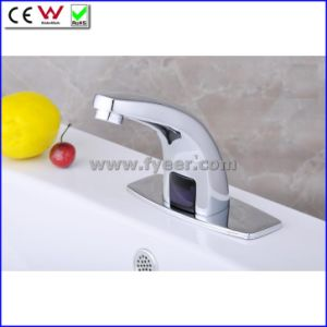 Fyeer Water Saving Infrared Automatic Sensor Faucet Cold Only (QH0115) pictures & photos