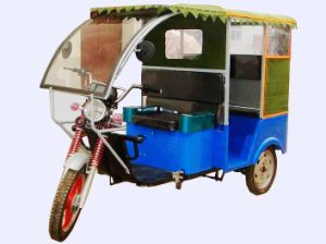 Super Power Electric Tricycle Rickshaw 1000W (PC-08B) pictures & photos